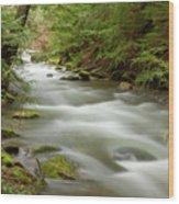 Velvet Stream Wood Print