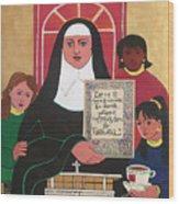 Ven. Catherine Mcauley - Mmvcm Wood Print