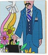 Ven. Jose Gregorio Hernandez - Mmvjh Wood Print