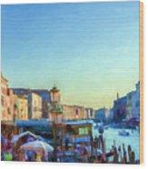 Venetian Afternoon I Wood Print