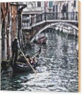 Venetian Bypass Wood Print