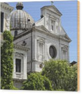 Venetian Church Wood Print