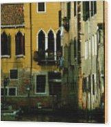 Venetian Gold Wood Print