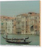 Venetian Highway Wood Print