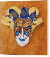 Venetian Mask 2 Wood Print