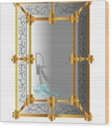 Venetian Mirror Wood Print