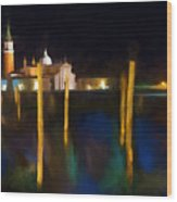 Venetian Nights Wood Print