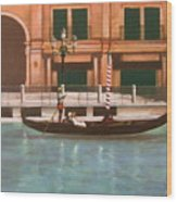 Venetian Number Two Wood Print