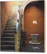 Venetian Stairway Wood Print