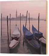 Venetian Sunset Wood Print