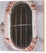 Venetian Window Wood Print by Italian Art