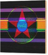 Venetion Neon Wood Print