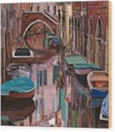 Venezia A Colori Wood Print