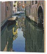 Venice 26 Wood Print