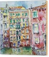 Venice-6-30-15 Wood Print by Vladimir Kezerashvili