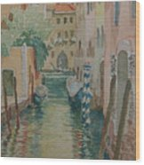 Venice Afternoon Wood Print