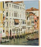 Venice Architecture Wood Print