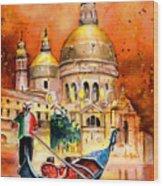 Venice Authentic Wood Print