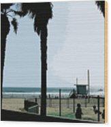 Venice Beach California Wood Print