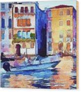 Venice Beautiful 16 Wood Print