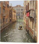 Venice Canal 2 Wood Print