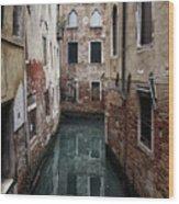 Venice - Canal Dreams  Wood Print