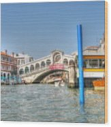 Venice Channelssssss Wood Print