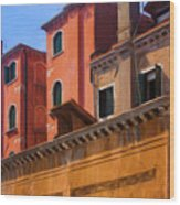 Venice Details Italy Wood Print