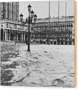 Venice: Flood, 1966 Wood Print