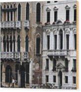 Venice Gondolier 2 Wood Print