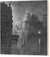 Venice, Grand Canal, C1905.  Wood Print