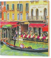 Venice Grand Canal Wood Print