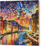 Venice - Grand Canal Wood Print