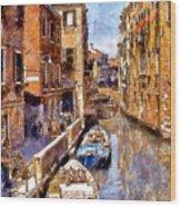 Venice I Wood Print