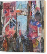 Venice IIi Wood Print