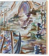 Venice Impression I Wood Print