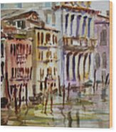 Venice Impression II Wood Print