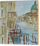 Venice Impression IIi Wood Print