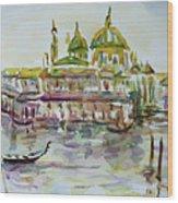 Venice Impression Iv Wood Print