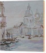 Venice Impression Vi Wood Print