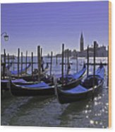 Venice Is A Magical Place Wood Print