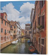 Venice, Italy Wood Print