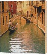 Venice ,italy. Wood Print
