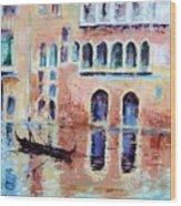 Venice Wood Print