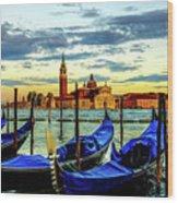 Venice Landmark Wood Print