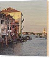 Venice Lover Wood Print