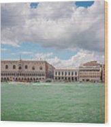 Venice Panorama Wood Print