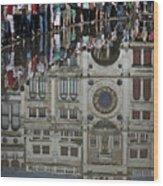 Venice Parade Wood Print by Patrick English
