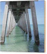 Venice Pier - Florida Wood Print
