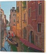 Venice Sentimental Journey Wood Print